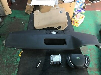 RANGE ROVER L322 BLACK DASH TOP w DRIVER  PASSENGER KNEE AIRBAGS 2007 TO 2012