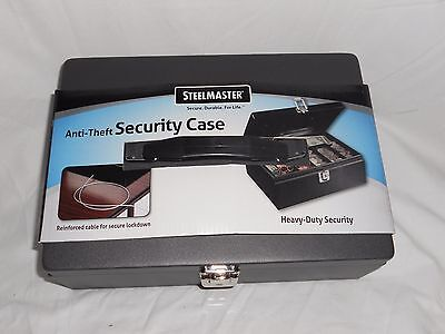 Mmf Industries Steelmaster Anti-theft Security Cable Cash Box