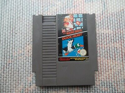 Jeu Nintendo / Nes Game Super Mario Bros / Duck Hunt  PAL original * 8 bit