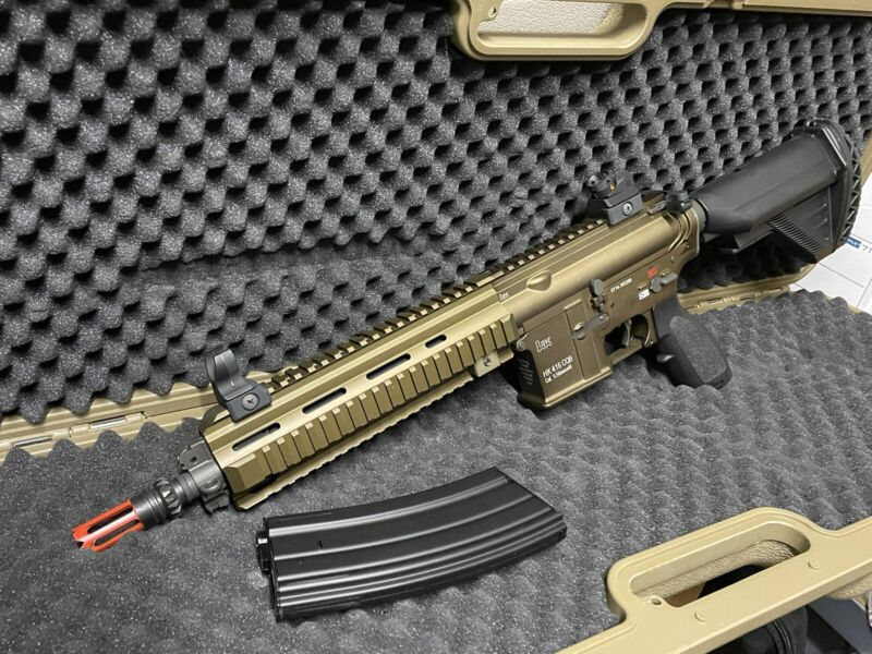 AIRSOFT HK 416 CQB BROWN LIMITED EDITION Umarex