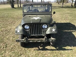 1954  M38A1 Jeep  Willy's