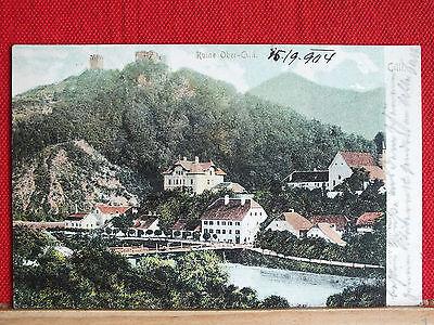 Farbkarte - Cilli / Celje - gel. 1904 - mit Ruine Ober-Cilli - schöner Zustand !