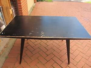 Table - wooden black Waverley Eastern Suburbs Preview