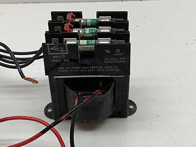 Westinghouse C81001 Type Mtc Control Transformer 240480v To 120v .050 Kva 50va