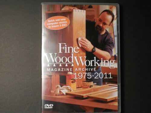 Fine Woodworking Magazine Archive DVD 1975-2011, 223 Complete Issues, 36 Years!