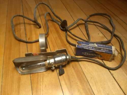 Antique Leviton Clip On Lamp for Sewing Machine Antique Light