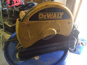 Dewalt metal chop saw