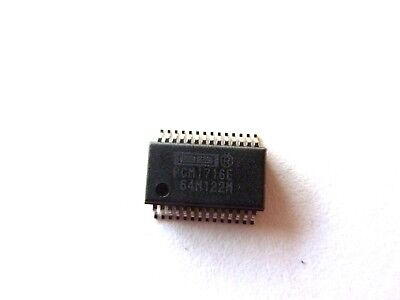 Pcm1716e 24-bit 96khz Sampling Cmos Delta-sigma Stereo Audio Dac...usa Seller