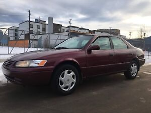1998 Toyota Camry CE with Safety Inspection