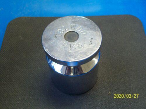 TOLEDO 2 kg (2000g) Class 1 calibration weight
