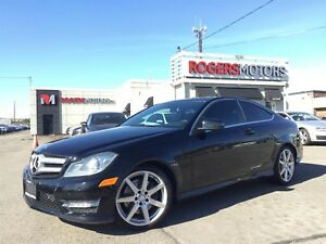 2013 Mercedes-Benz C350 2 DR - 4MATIC - NAVI - PANORAMIC ROOF