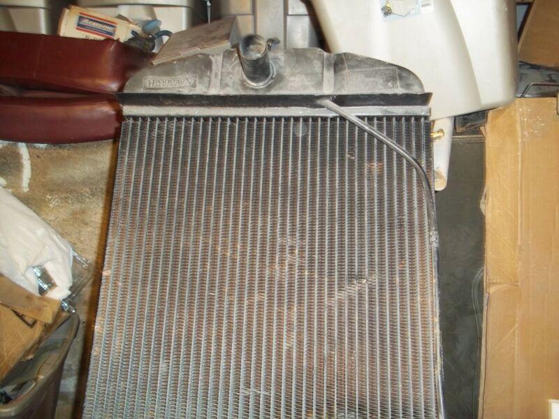1928 hudson radiator
