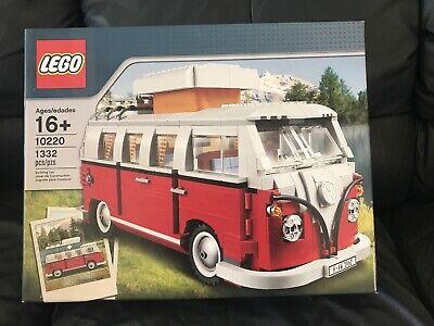 Lego Sculptures 10220 Volkswagen T1 Camper Van - brand new unopened and sealed!