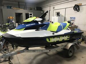 2017 Sea-Doo Wake Pro 230 - Only 38 Hours!