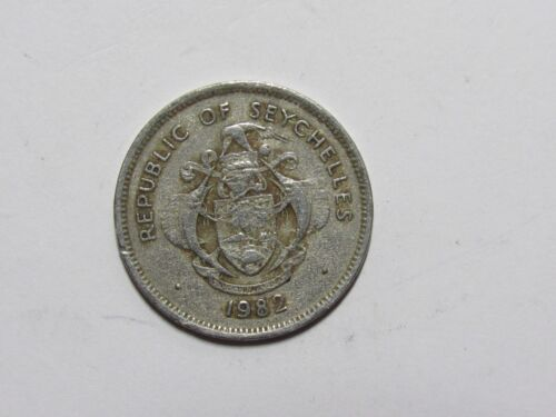 Seychelles Coin - 1982 1 Rupee Conch - Circulated