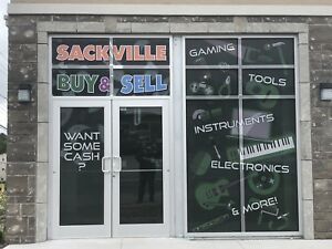 Sackville Buy and sell.   open for business