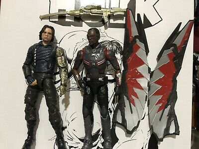 Marvel Legends Infinity War Falcon & Winter Soldier Figure 2 Pack New Target