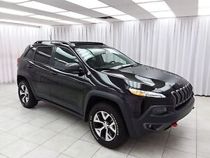 2016 Jeep Cherokee TRAIL HAWK V6 TRAIL RATED 4x4 SUV w/ HEATED L
