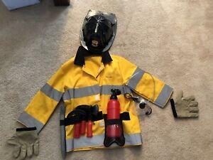 Costume - Fireman size 3-4