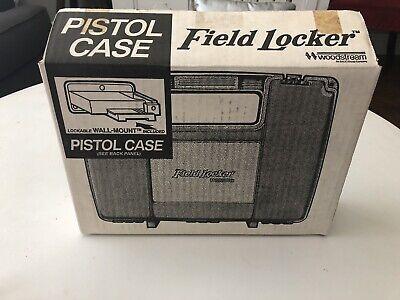 Field Locker Single Pistol Gun Case Lockable Wall Mount Included