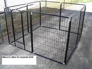 BRAND NEW Pet Dog Exercise Encl Fence Play Pen Run-100cmx8 PANEL Kingston Logan Area Preview