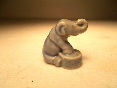Red Rose Tea Wade Whimsies ceramic figurines Circus Series - Raised Elephant for sale  Unity