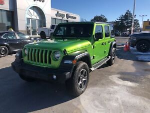 2018 Jeep WRANGLER UNLIMITED Sport JL 4x4 V6 Auto w/Remote Start