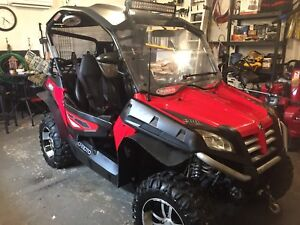 For sale: 2011 Cfmoto 600 synper and 6x8 trailer