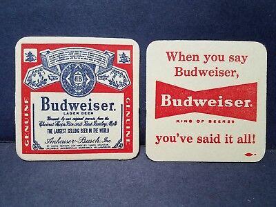 Vintage Budweiser Coasters