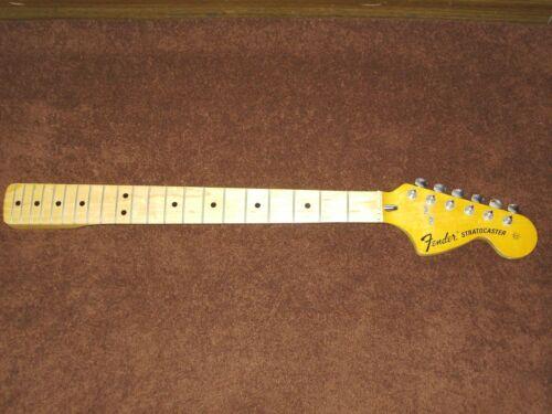 Fender Stratocaster 1973 1974 1975 1976 Original USA Maple Neck