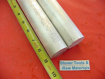 2 Pieces 1-34 Aluminum 6061 Round Rod 9 Long Solid 1.75 Lathe Bar Stock