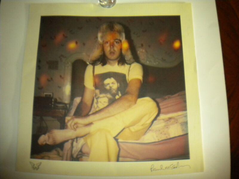 Paul McCartney Beatle Wings Original One on One Tour  Poster Fenway Park Boston
