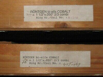 Roentgen 1-12 .050 23t X 140 Ftcoil Of Bialpha M42 Cobalt Band Saw Blade
