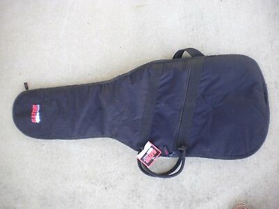 - Gator Economy Gig Bag for Electric Guitar. Padded Case with Pocket