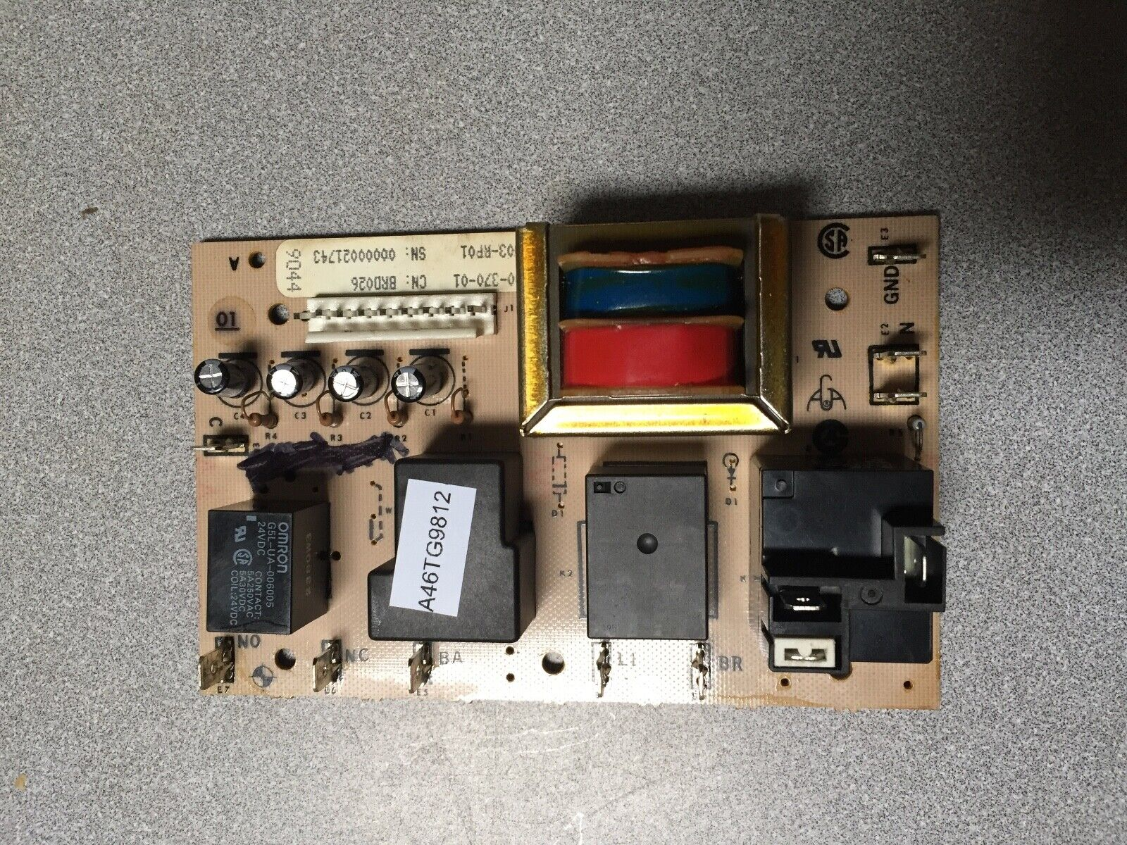 Refurbished Relay Circuit Board - WB27X610 for GE Electric Ranges  - $50.00