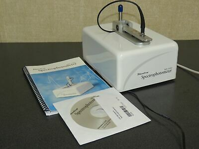 Thermo Nanodrop Nd-1000 Uvvis Spectrophotometer W Power Supply Usb Cable