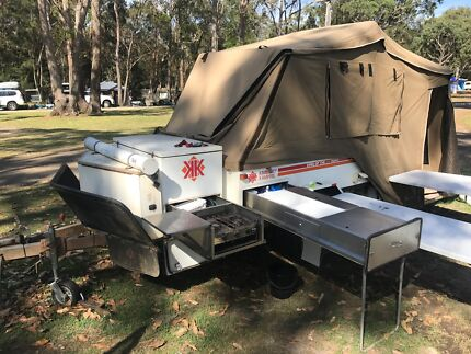 Perfect GO  Deluxe Offroad Camper Trailer