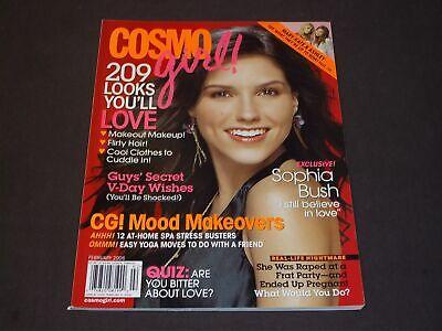 2006 FEBRUARY COSMO GIRL MAGAZINE - SOPHIA BUSH - NICE FRONT COVER - (Sophia Bush Kids)