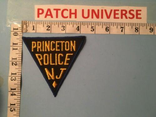 PRINCETON  N.J. POLICE  SHOULDER PATCH  J124