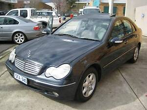 2002 Mercedes-Benz C200 KOMPRESSOR ELEGANCE REG 3/17 SUNROOF Heidelberg West Banyule Area Preview