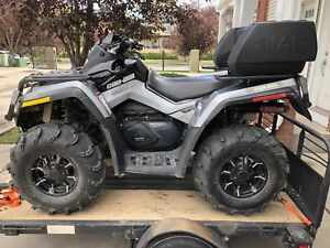 Can am Outlander 800R XTP Low kms, $8500obo