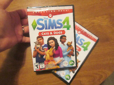 The Sims 4 Cats   Dogs Pc Mac Expansion Pack Download New Factory Sealed