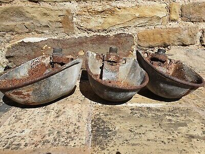Cast Iron Cattle Water Trough Upcycle to a planter,bird feeder or pub renovation