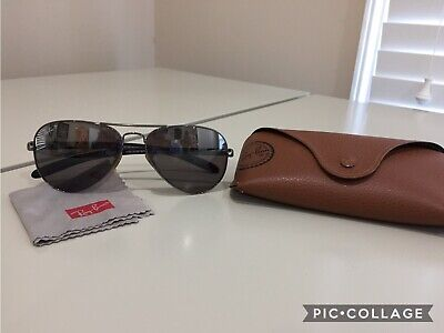 Ray Ban RB8307 004/N8 58-14  3P Sunglasses/ Used in Good (Ray Ban 8307 Polarised)
