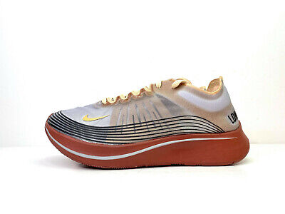 Nike Zoom Fly Sp Fast SP London Running Trainers Grey UK 6 EUR 39 AV7006 001