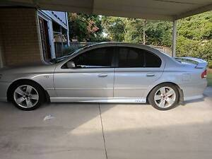 2006 Ford Falcon XR6 Sedan 6 Speed ZF Auto Uber Low KS Swap North Booval Ipswich City Preview