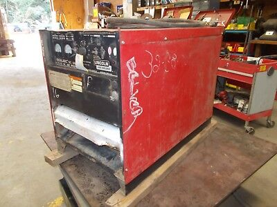 Lincoln Idealarc Dc-600 Arc Welder Power Source 600a Rectifier Type