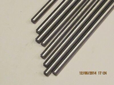14 Stainless Steel Rod  Bar Round 304 1 Pc 12 Long  Free Shipping