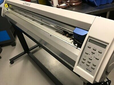 Roland Camm-1 Pro Gx-500 54 Large Format Vinyl Cutter Plotter Great Condition