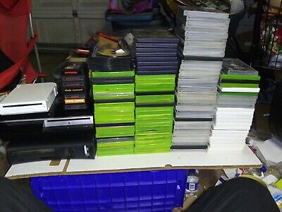 Huge Lot Of Video Games System And Games Xbox 360, Ps3 And Wii plus Others